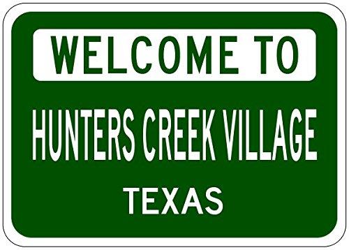 Hunters Creek Village Sign
