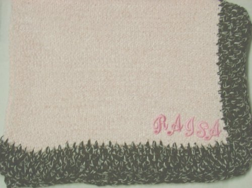 Hand Knitted Baby Blanket back-334694