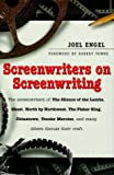 Screenwriters on Screenwriting (1567313620) by Joel Engel