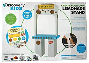 Discovery kids create your own combination for How to build a lemonade stand on wheels