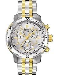 Tissot T-Sport PRS200 Chronograph Silver-tone Dial Mens Watch T0674172203100