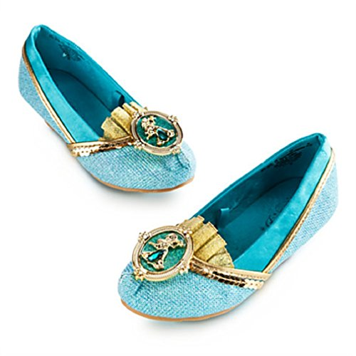 Disney - Jasmine 2014 Costume Shoes for Girls - Size 9/10 - NEW