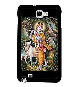 Printvisa Ultra Lord Krishna 2D Hard Polycarbonate Designer Back Case Cover for Samsung Galax...