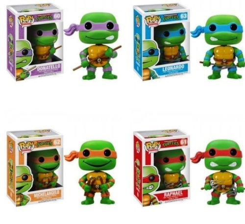 Funko PoP TMNT Figures Set Of 4