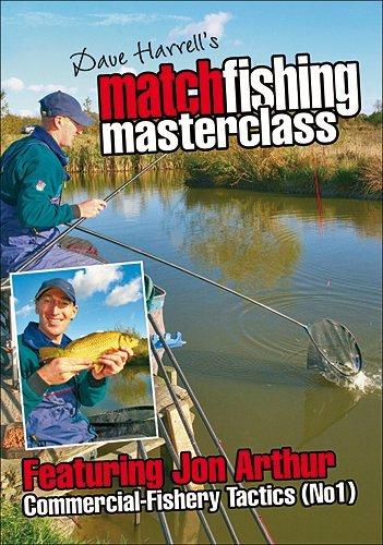 Match Fishing Masterclass - Comercial-Fishery Tactics (No1) [DVD] by Jon Arthur