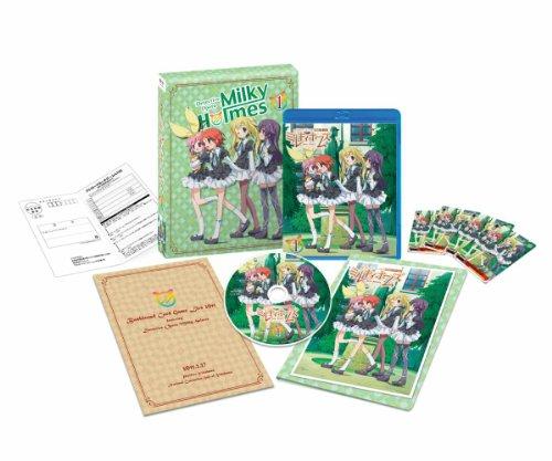 おすすめアニメ キャッチ 探偵オペラ ミルキィホームズ【1】 (第1巻スペシャルプライス) [Blu-ray]
