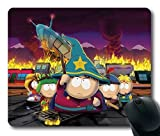 img - for Popular Mouse Pad with south park stan marsh kyle broflovski eric cartman kenny mccormick Non-Slip Neoprene Rubber Standard Size 9 Inch(220mm) X 7 Inch(180mm) X 1/8 Inch(3mm) Mousepads book / textbook / text book