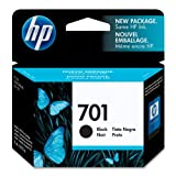 HP 701 (CC635A) Black Original Ink Cartridge