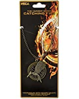 The Hunger Games Catching Fire Mockingjay with Secret Quote Single Chain Necklace