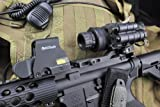 Armasight Sirius GEN 2+ QS MG Quick Silver White Phosphor Multi-Purpose Night Vision Monocular with Manual Gain Black