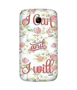 I Can I Will Samsung Galaxy Core I8260 Case