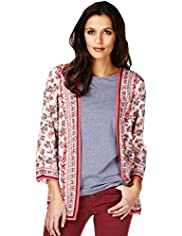Indigo Collection Bohemian Cover-Up Top
