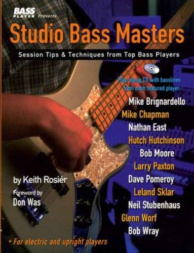 Studio Bass Masters (W/Cd)