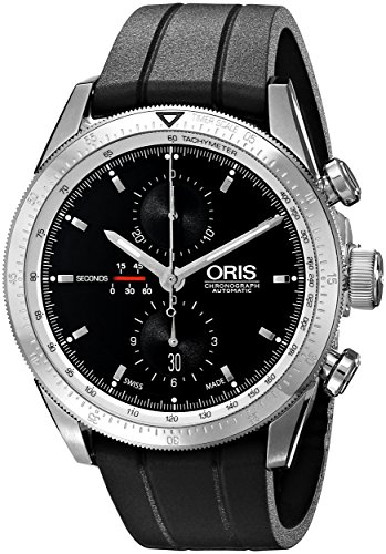 Oris-Mens-67476614174RS-Analog-Display-Swiss-Automatic-Black-Watch