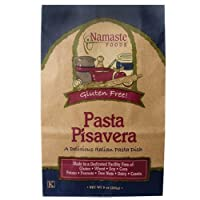 Namaste Foods, Gluten Free Pasta Pisavera Dish, 9-Ounce Bags (Pack of 6) by Namaste Foods