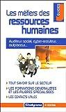 Les métiers des ressources humaines par Cloarec