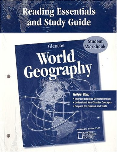 Glencoe World Geography, Reading Essentials and Study Guide, Workbook (Glencoe World Geography compare prices)