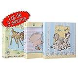 LCD - Set di 3 album Disney Baby con tasche per 200 foto, 10 x 15 cm