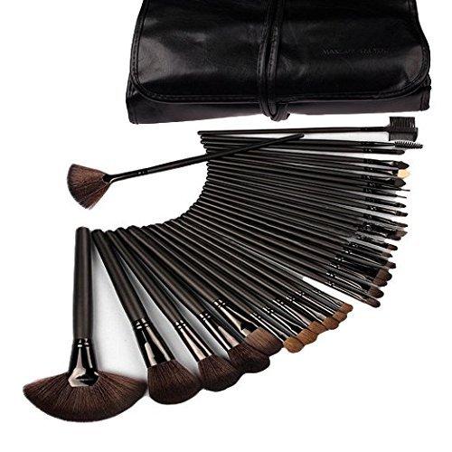 klaren-professional-makeup-brush-set-32-pc-set-with-wood-handles-includes-free-case