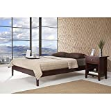 Metro Shop Tapered Leg California King-size Platform Bed