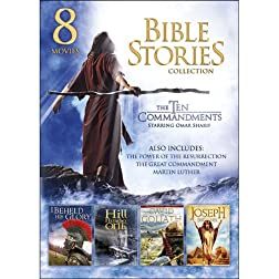 8-Movie Family Bible Stories Collection