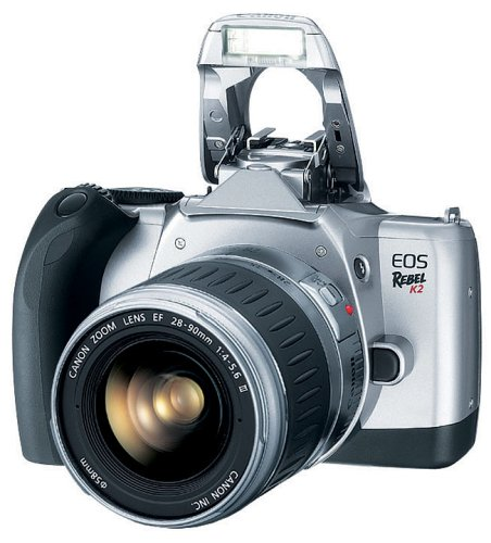Lowest Price! Canon EOS Rebel K2 SLR 35mm Film Camera with EF 28-90mm III USM Lens