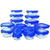 Glasslock 36 Piece Oven Safe Assortment Set