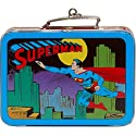 SUPERMAN Tin Lunchbox - NIB Hallmark Keepsake Ornament 1998