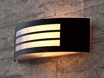 Applique Moderne Lampe Murale Extérieure Semi-Circulaire ...