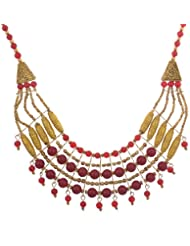 Sixmeter Jewels Black Metal Necklace For Women (PS-6)