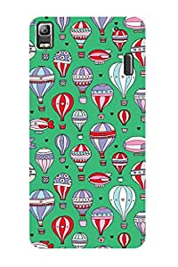ZAPCASE PRINTED BACK COVER FOR LENOVO K3 NOTE - Multicolor