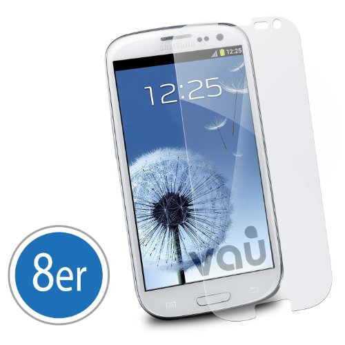vau Screengards – Displayschutzfolie für Samsung Galaxy S3 (8er-SET ultra transparent, unsichtbar) Rezessionen