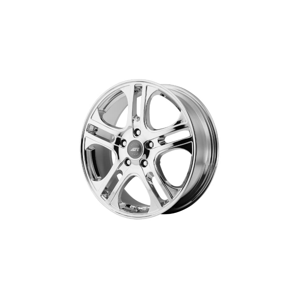 American Racing AXL 16x7 Chrome Wheel / Rim 5x4.25 with a 40mm Offset and a 72.60 Hub Bore. Partnumber AR88767045240