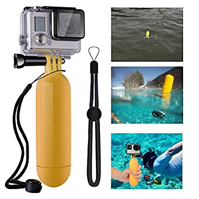 MCOCEAN 27 pcs Accessories Kit for GoPro Hero 4 Hero 3+ Hero 3 Camera:Large Case+Selfie Stick+Chest Harness+Head Strap+Wrist Strap+ Clamp+Floating Monopod+ +Suction Cup+J-Hook+Tripod etc.