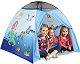Mermaid Play Tent with Carry Case - Indoor/Outdoor Pop Up Tent by Etna