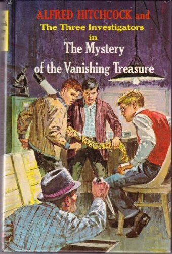 The Mystery of the Vanishing Treasure (Alfred Hitchcock Mystery Series)