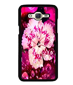 Fuson 2D Printed Flower Designer back case cover for Samsung Galaxy J5 - D4484