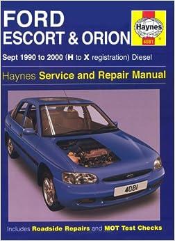 2000 Ford Escort Repair Manual PDF Download