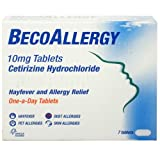 Beconase 10mg BecoAllergy Tablets - Pack of 7 Tablets