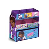 Delta Children Doc Mcstuffins Multi-Bin Toy Organizer
