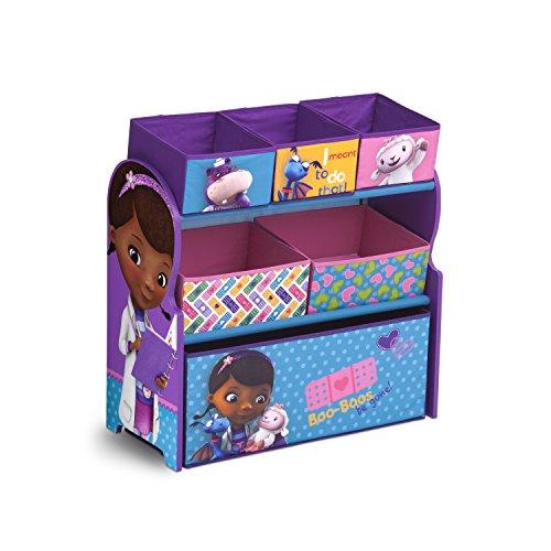 Delta Children Multi-Bin Toy Organizer, Disney Junior Doc McStuffins (Doc Mcstuffins Toy Box compare prices)
