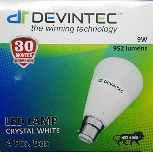 9W-LED-Bulb-(Cool-White,-Set-Of-4)