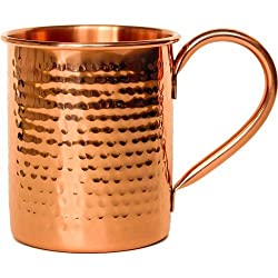 Aarrt Copper Moscow Mule Beer Mug Hammered Classy