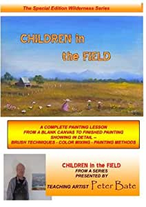 How to Paint Landscape with Figures in oils - Children in the Field