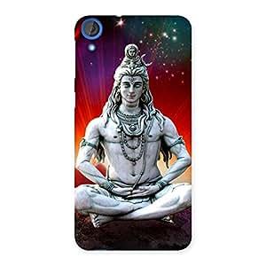 Stylish Shiva Yog Back Case Cover for HTC Desire 820