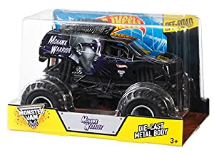 Hot Wheels Monster Jam Mohawk Warrior Die-Cast Vehicle, 1:24 Scale