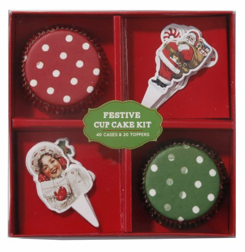 Jolly Holly Cakeset, Red