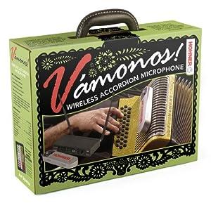 Hohner Vamonos 1.0 Wireless Accordian Microphone