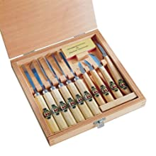 Two Cherries 515-3441 11-piece Carving Tools In Wood Box