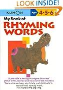 My Book Of Rhyming Words (Kumon Workbooks)